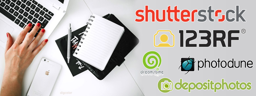 Top 5 stock photo libraries